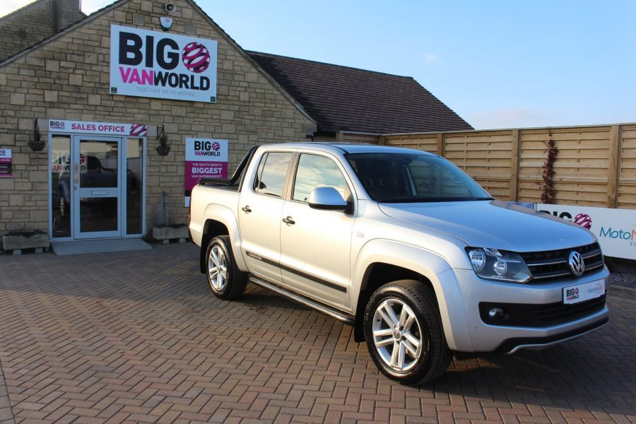 VOLKSWAGEN AMAROK TDI 180 CANYON 4MOTION DOUBLE CAB AUTO WITH ROLL'N'LOCK TOP - 7311 - 2