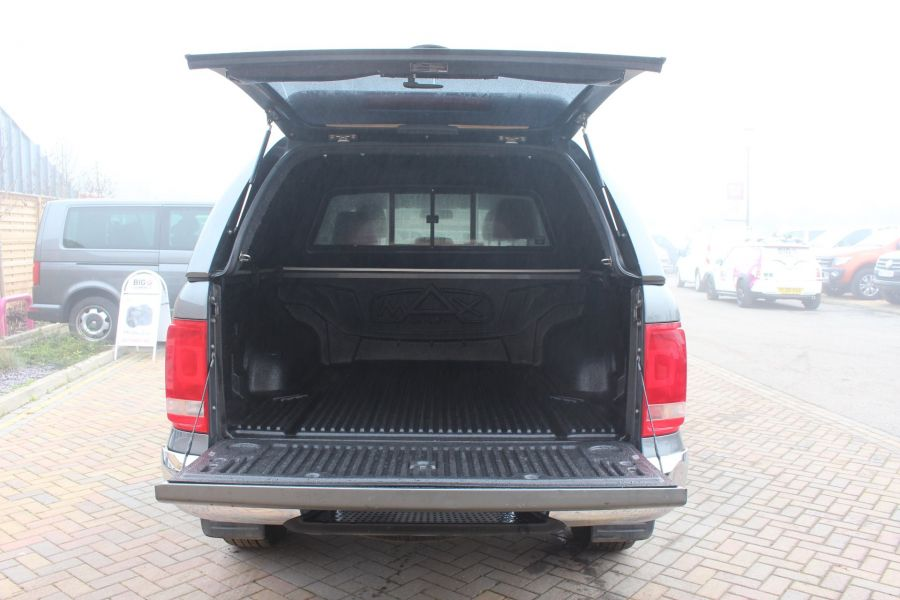 VOLKSWAGEN AMAROK TDI 180 HIGHLINE 4MOTION DOUBLE CAB WITH TRUCKMAN TOP AUTO - 6906 - 23