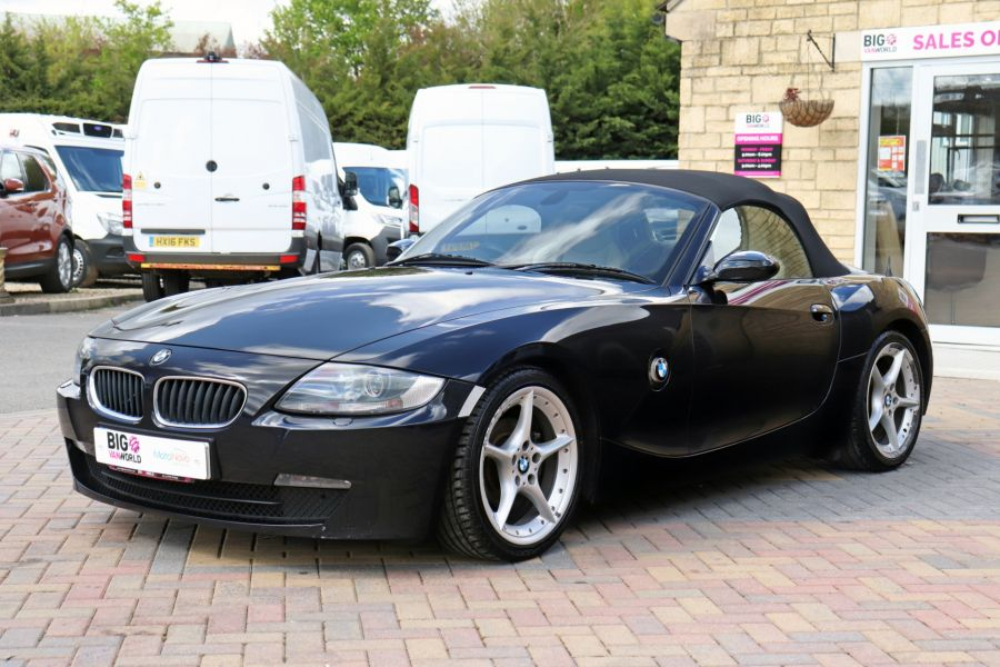 BMW Z SERIES Z4 2.0i SPORT ROADSTER 150 BHP CONVERTIBLE  (14313) - 12619 - 12