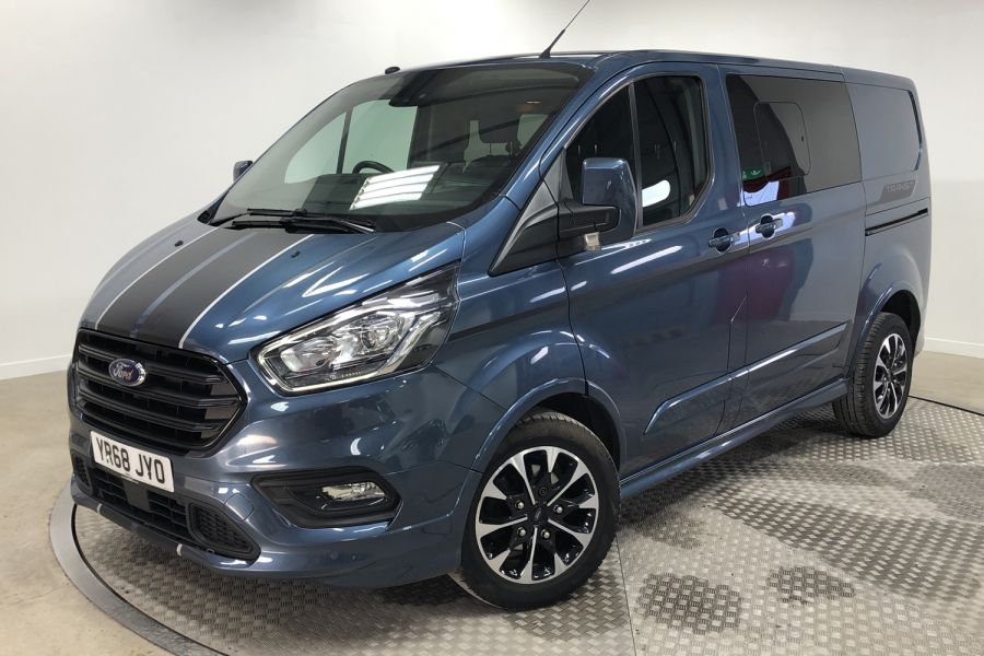 FORD TRANSIT CUSTOM 310 TDCI 170 L1H1 SPORT DOUBLE CAB 5 SEAT CREW VAN SWB LOW ROOF FWD AUTO - 12470 - 5