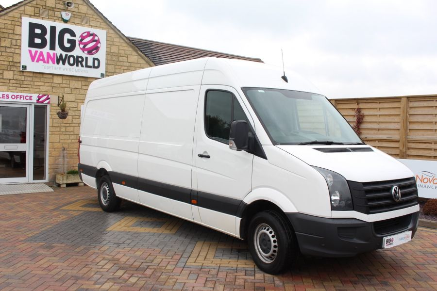 VOLKSWAGEN CRAFTER CR35 TDI 136 LWB HIGH ROOF - 7633 - 3