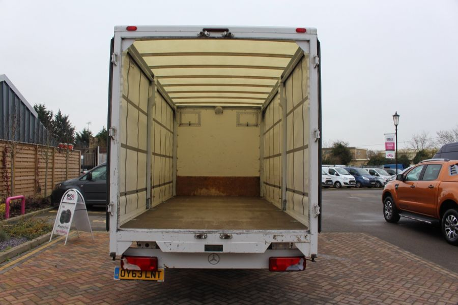 MERCEDES SPRINTER 313 CDI LWB 17FT CURTAIN SIDE BOX - 7006 - 18