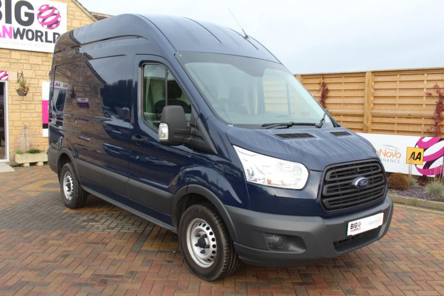 FORD TRANSIT 350 TDCI 155 L2 H3 MWB HIGH ROOF FWD - 6842 - 3