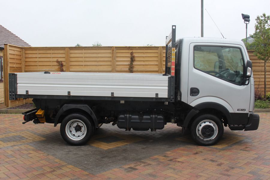 NISSAN NT400 CABSTAR DCI 35.14 SWB ALLOY TIPPER - 6520 - 12