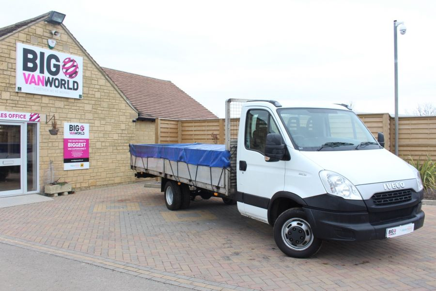 IVECO DAILY 35C13 4100 WB XLWB 20FT ALLOY DROPSIDE - 7302 - 1