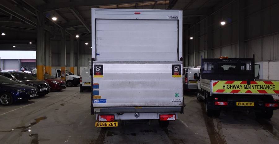 VOLKSWAGEN CRAFTER CR35 TDI 136 STARTLINE LWB 'ONE STOP' LUTON WITH TAIL LIFT - 10847 - 5