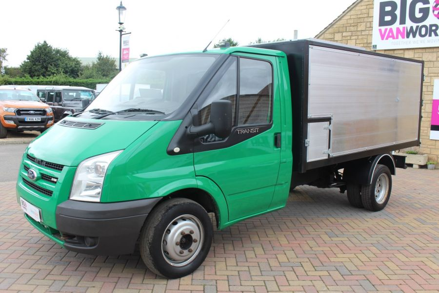 FORD TRANSIT 350 TDCI MWB SINGLE CAB NEW ALLOY ARBORIST TIPPER - 6565 - 17