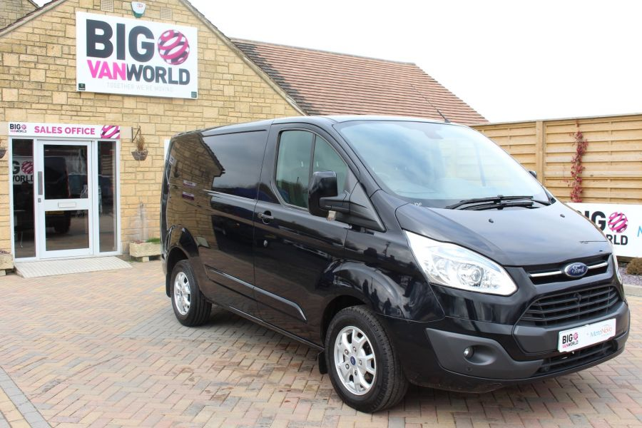 FORD TRANSIT CUSTOM 270 TDCI 155 L1 H1 LIMITED SWB LOW ROOF FWD - 7564 - 3