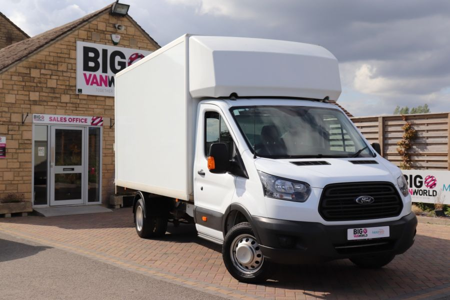 FORD TRANSIT 350 TDCI 170 L4 'ONE STOP' LUTON WITH TAIL LIFT DRW RWD  - 9531 - 1