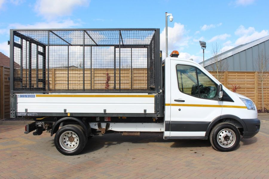 FORD TRANSIT 350 TDCI 125 SINGLE CAB 'ONE STOP' CAGED TIPPER DRW RWD - 7297 - 11