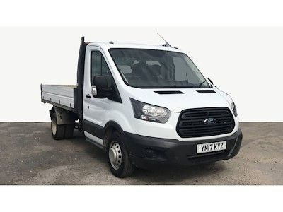 FORD TRANSIT 350 TDCI 130 L2 MWB SINGLE CAB 'ONE STOP' ALLOY TIPPER DRW RWD - 11162 - 1