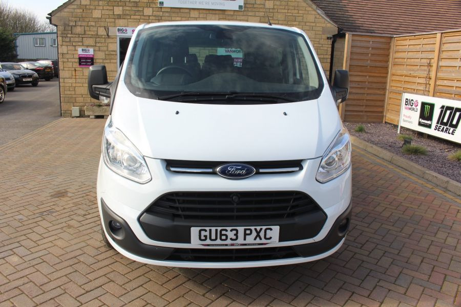 FORD TOURNEO CUSTOM 300 TDCI 125 ZETEC L2 H1 9 SEAT MINIBUS LWB LOW ROOF - 8771 - 9