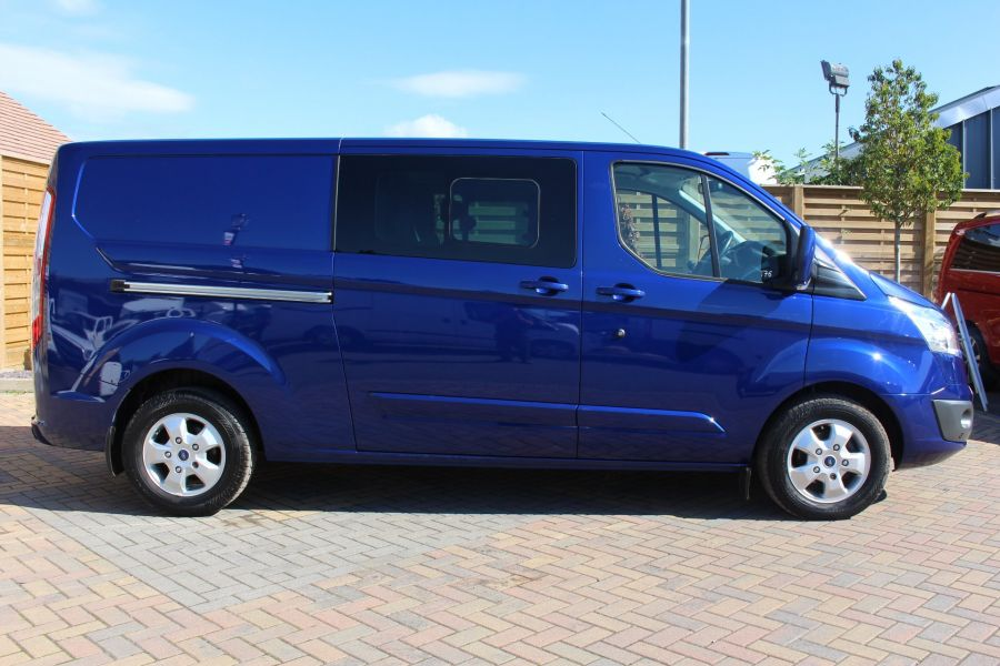 FORD TRANSIT CUSTOM 290 TDCI 155 L2 H1 LIMITED DOUBLE CAB LWB LOW ROOF - 6509 - 4