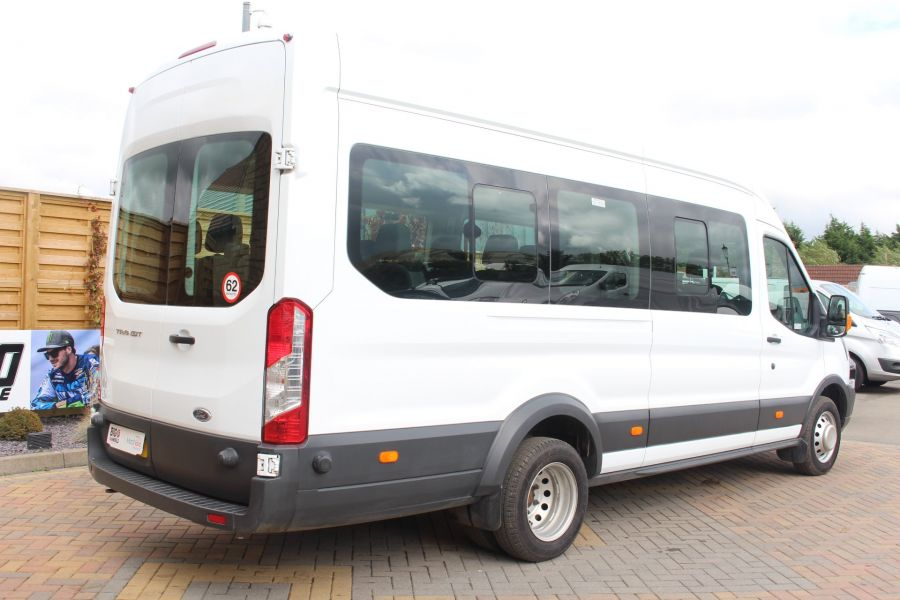 FORD TRANSIT 460 TDCI 125 L4 H3 LWB HIGH ROOF 17 SEAT BUS RWD - 6608 - 5