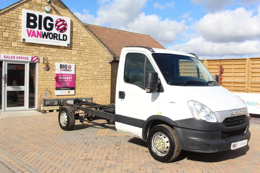IVECO DAILY 35S11 3750 WB CHASSIS CAB - 7296 - 2