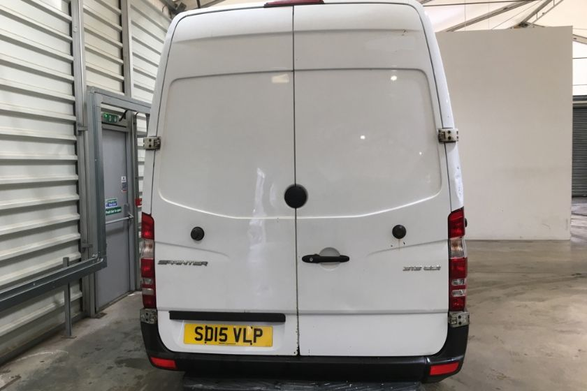 MERCEDES SPRINTER 313 CDI 129 MWB HIGH ROOF FRIDGE/FREEZER VAN WITH OVERNIGHT - 11238 - 5