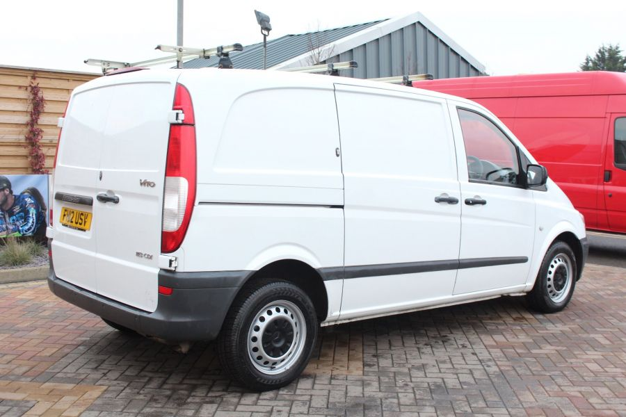 MERCEDES VITO 113 CDI 136 COMPACT SWB LOW ROOF - 7100 - 5