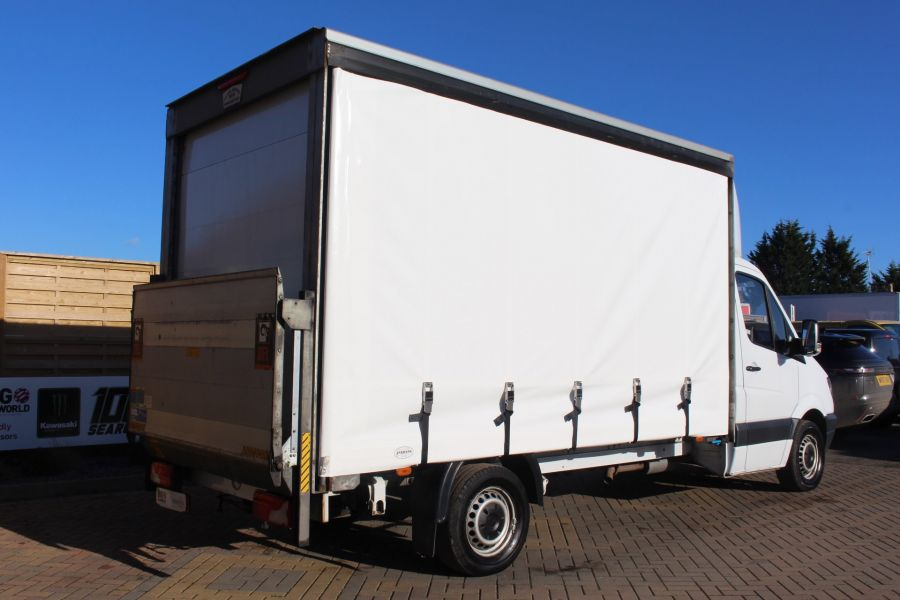 MERCEDES SPRINTER 313 CDI LWB CURTAIN SIDE BOX WITH TAIL LIFT - 6946 - 4