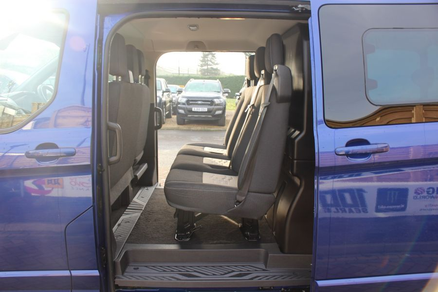 FORD TRANSIT CUSTOM 290 TDCI 125 L2 H1 LIMITED DOUBLE CAB 6 SEAT CREW VAN LWB LOW ROOF FWD  - 7113 - 20