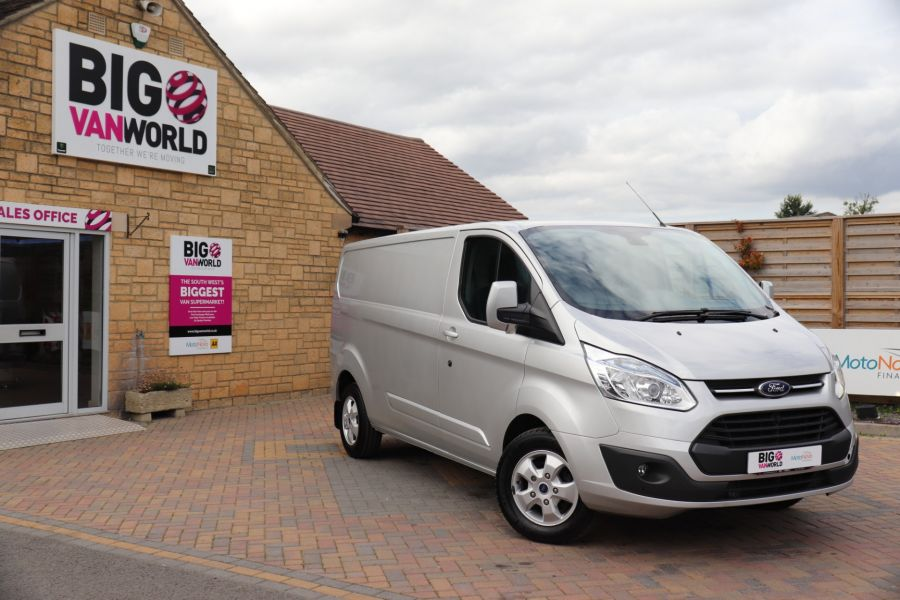 FORD TRANSIT CUSTOM 290 TDCI 130 L2H1 LIMITED LWB LOW ROOF FWD - 12272 - 5