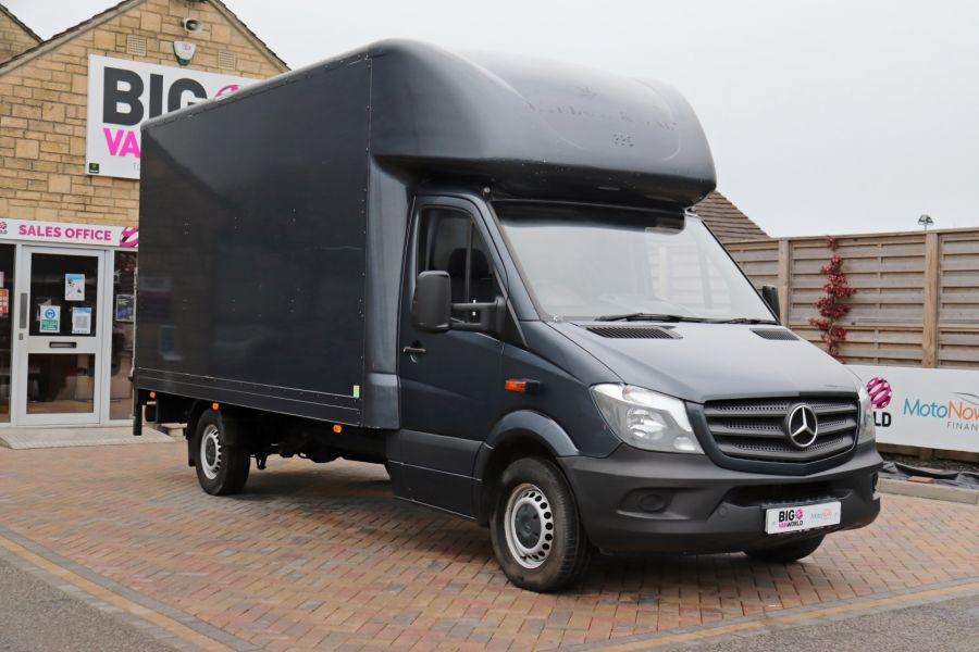 MERCEDES SPRINTER 314 CDI 140 LWB LUTON WITH TAIL LIFT - 11407 - 1