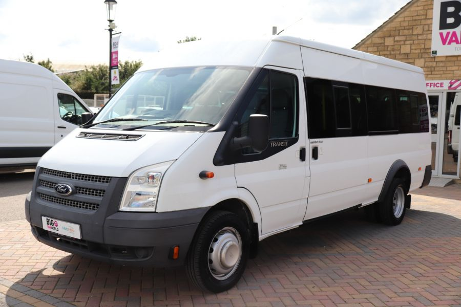 FORD TRANSIT 430 TDCI 135 EL LWB 17 SEAT BUS MEDIUM ROOF DRW RWD - 9732 - 9
