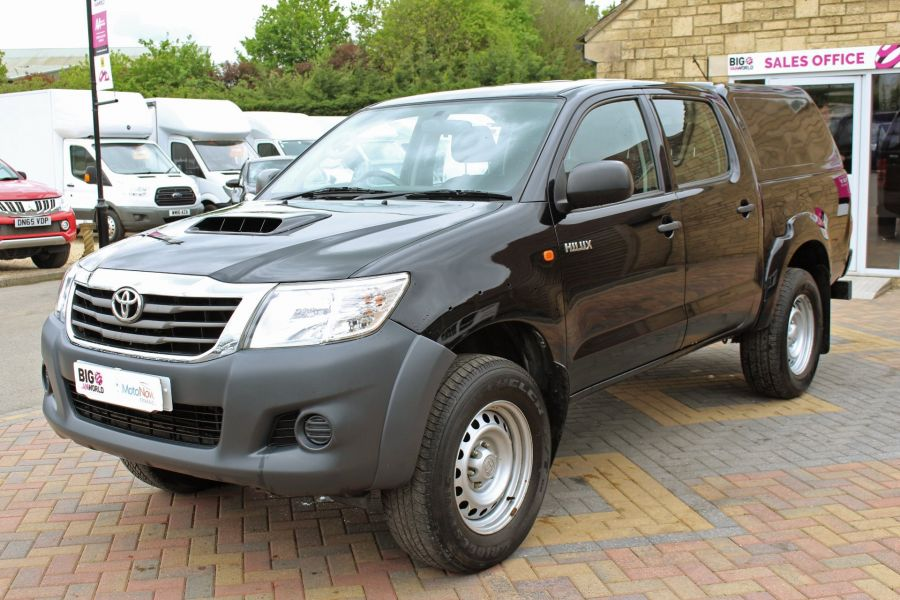 TOYOTA HI-LUX ACTIVE 4X4 D-4D 144 DOUBLE CAB WITH TRUCKMAN TOP - 9046 - 9
