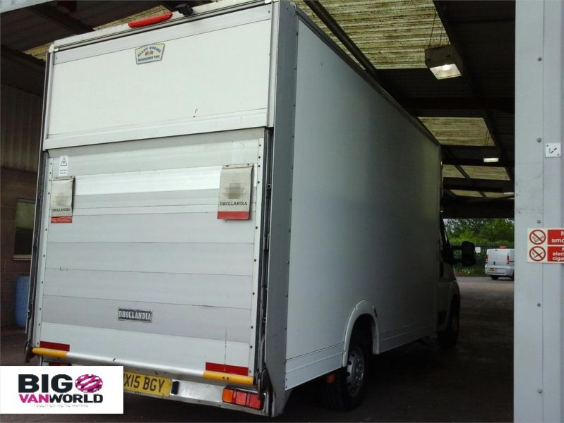 PEUGEOT BOXER 335 HDI 130 L3 LWB LOW LOADER LUTON WITH TAIL LIFT - 9513 - 2