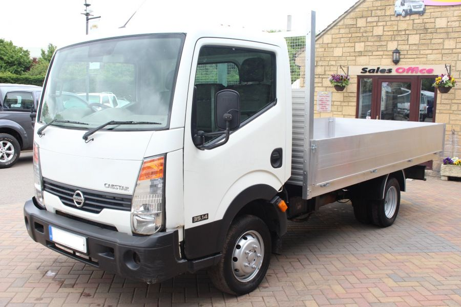 NISSAN CABSTAR 35.14 SINGLE CAB 13FT ALLOY DROPSIDE - 5991 - 6