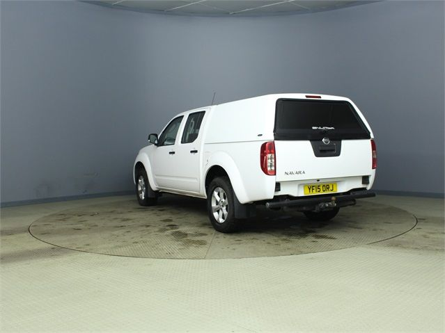 NISSAN NAVARA DCI 144 VISIA 4X4 DOUBLE CAB WITH TRUCKMAN TOP - 7405 - 5