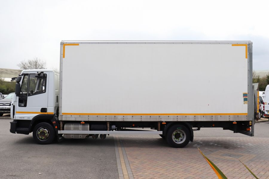 IVECO EUROCARGO  75E16S 4X2 GRP BOX WITH TAIL LIFT  (13925) - 12206 - 11