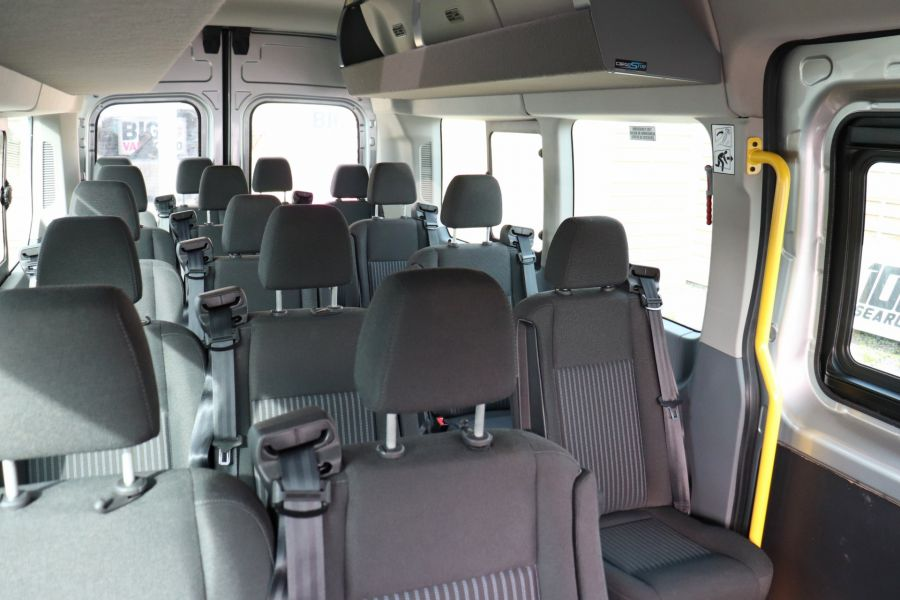 FORD TRANSIT 460 TDCI 155 L4H3 TREND 17 SEAT BUS HIGH ROOF DRW RWD - 10415 - 39