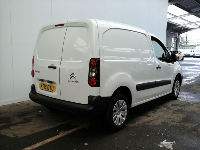 CITROEN BERLINGO 850 HDI 90 L1H1 ENTERPRISE SWB LOW ROOF - 9904 - 2