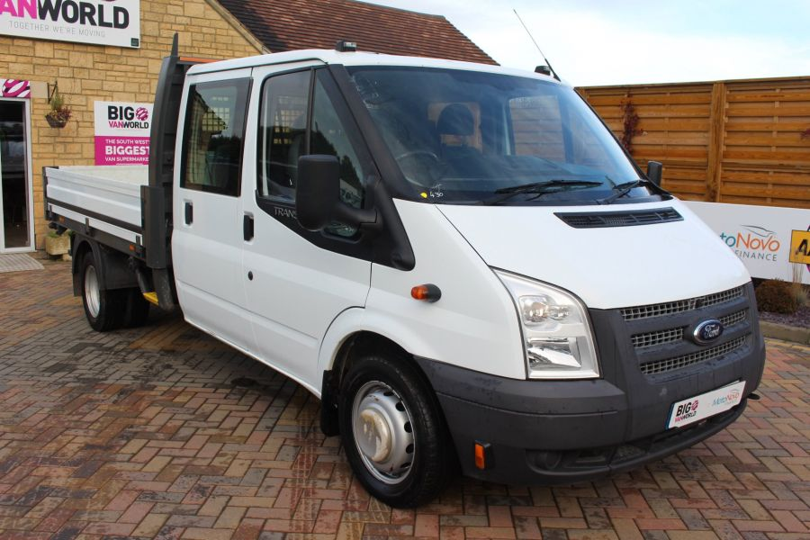 FORD TRANSIT 350 TDCI 125 LWB DOUBLE CAB 'ONE STOP' ALLOY DROPSIDE DRW RWD - 6761 - 3