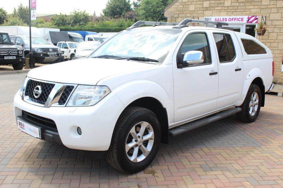 NISSAN NAVARA DCI 190 TEKNA CONNECT 4X4 DOUBLE CAB WITH SPORT TRUCKMAN TOP - 6295 - 8