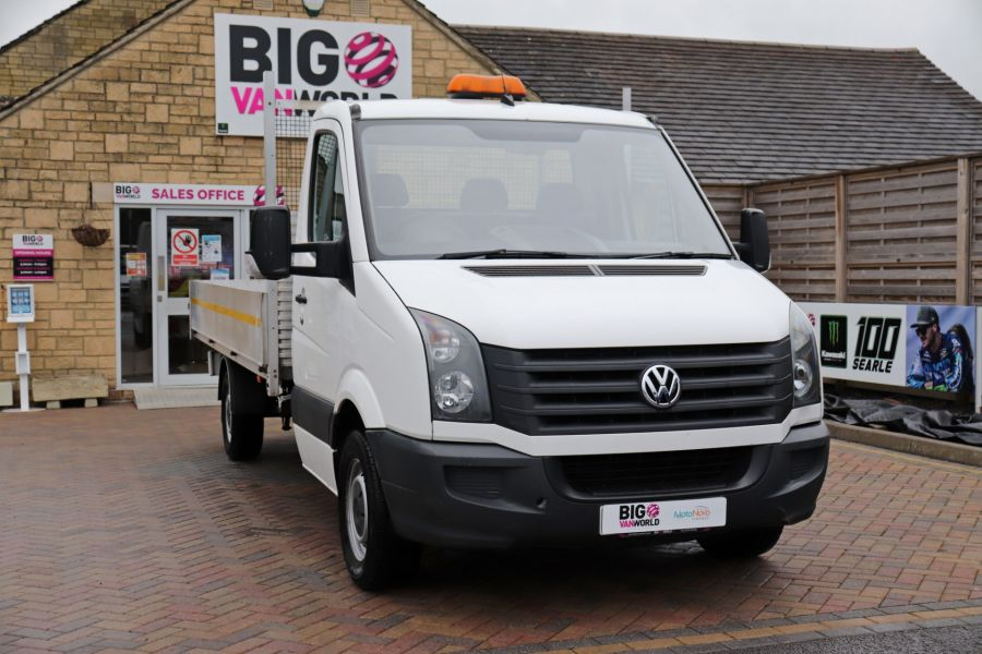 VOLKSWAGEN CRAFTER CR35 TDI 140 BMT LWB SINGLE CAB ALLOY DROPSIDE - 12073 - 5