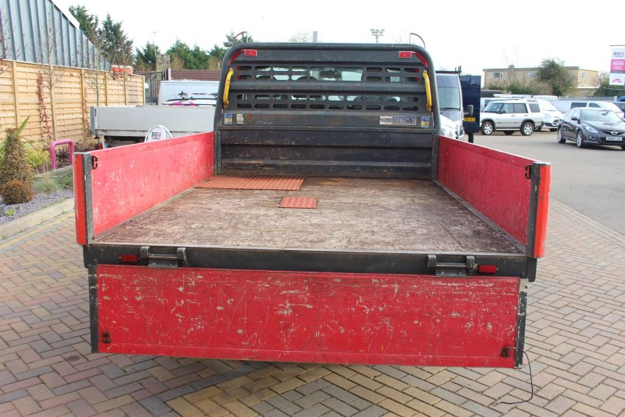 FORD TRANSIT 300 TDCI 110 SWB ALLOY DROPSIDE - 7031 - 16