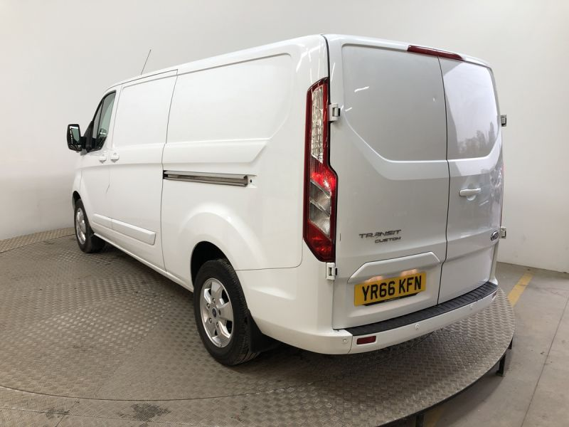 FORD TRANSIT CUSTOM 290 TDCI 130 L2H1 LIMITED LWB LOW ROOF FWD - 11915 - 4