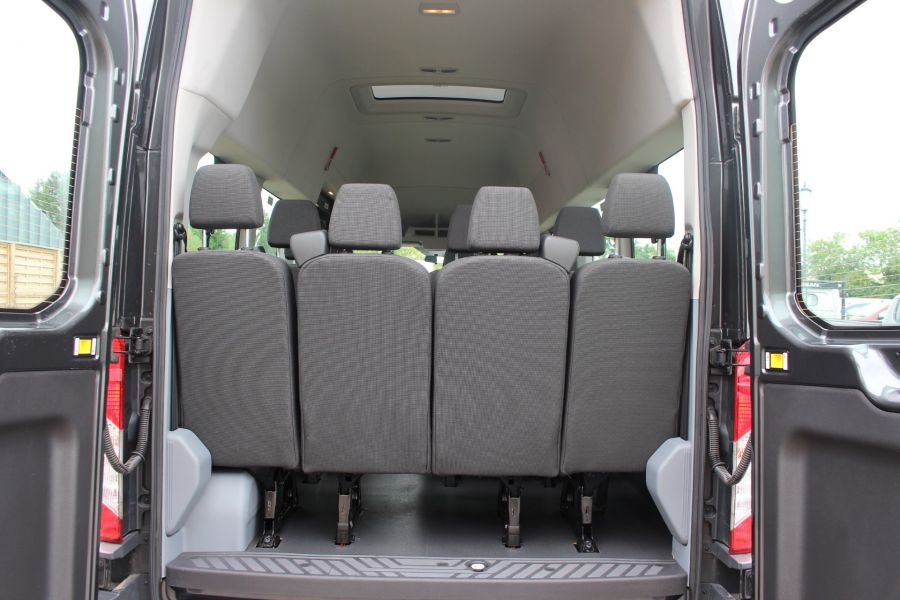 FORD TRANSIT 460 TDCI 155 L4 H3 17 SEAT BUS HIGH ROOF DRW RWD - 8132 - 24