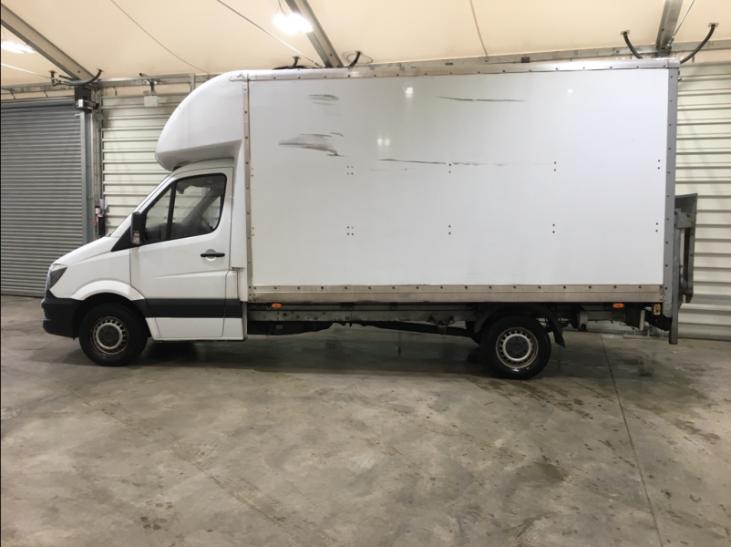 MERCEDES SPRINTER 313 CDI 129 LWB LUTON WITH TAIL LIFT - 10752 - 6