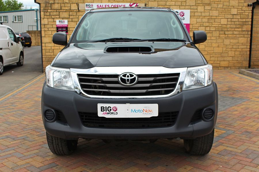 TOYOTA HI-LUX ACTIVE 4X4 D-4D 144 DOUBLE CAB WITH TRUCKMAN TOP - 9046 - 10