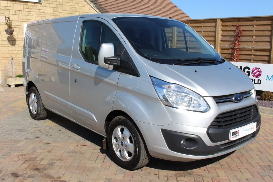 FORD TRANSIT CUSTOM 290 TDCI 170 L1 H1 LIMITED SWB LOW ROOF FWD  VERY RARE - 7563 - 1
