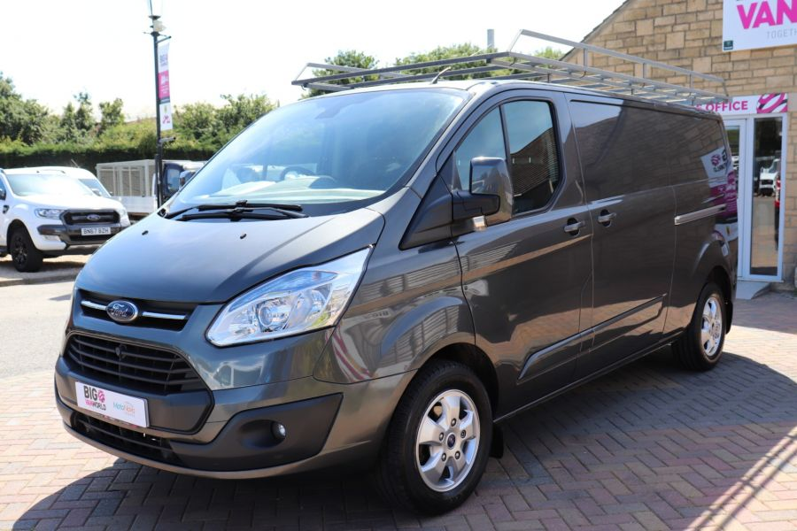 FORD TRANSIT CUSTOM 290 TDCI 125 L2 H1 LIMITED LWB LOW ROOF FWD - 9467 - 9