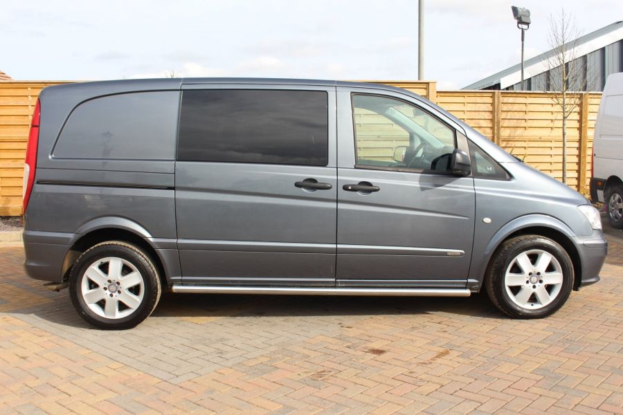 MERCEDES VITO 116 CDI 163 DUALINER COMPACT SPORT SPECIAL EDITION 5 SEAT CREW VAN - 7444 - 4