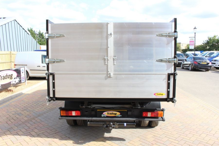 FORD TRANSIT 350 MWB SINGLE CAB HIGH SIDED ARBORIST ALLOY TIPPER - 6153 - 4