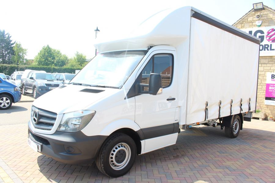 MERCEDES SPRINTER 314 CDI 140 CURTAINSIDER - 7665 - 7
