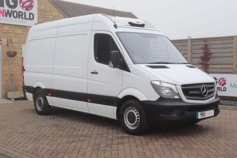 MERCEDES SPRINTER 314 CDI 140 MWB HIGH ROOF FRIDGE VAN - 12025 - 1