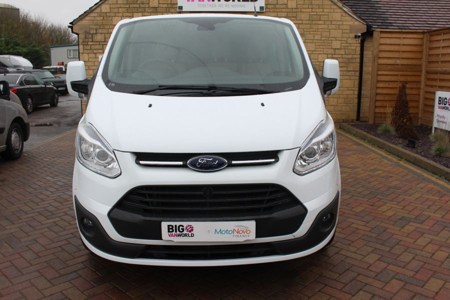 FORD TRANSIT CUSTOM 290 TDCI 155 L1 H1 LIMITED DOUBLE CAB 6 SEAT CREW VAN SWB LOW ROOF FWD - 6940 - 9