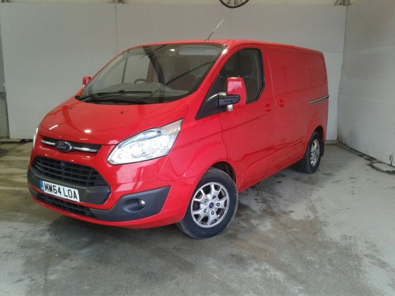 FORD TRANSIT CUSTOM 290 TDCI 125 L1H1 LIMITED SWB LOW ROOF FWD - 10096 - 1