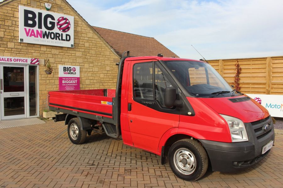 FORD TRANSIT 300 TDCI 110 SWB ALLOY DROPSIDE - 7031 - 2
